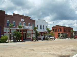 Apalachicola Florida Downtown Dixie Theater