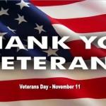 Veterans Day of 2013