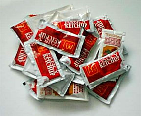 Ketchup-packets