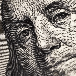 Benjamin Franklin is watching you