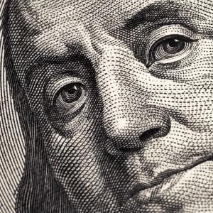 Benjamin Franklin is watching you