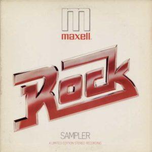 Maxell tape Rock Sampler vinyl