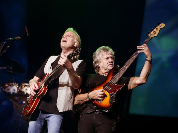 Justin Hayward John Lodge Moody Blues hall of fame