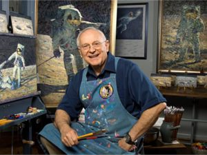 Alan Bean astronaut artist painter