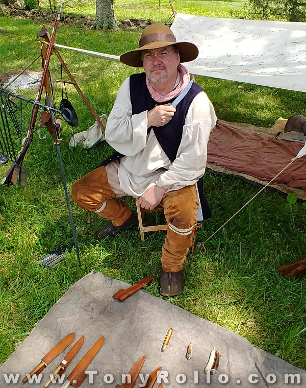 Bledsoe-Colonial-Fair-2018-colonial-american-knife-maker-4