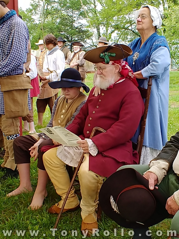 Bledsoe-Colonial-Fair-2018-divine-service-parson-john-living-history-fort-downing-clothing