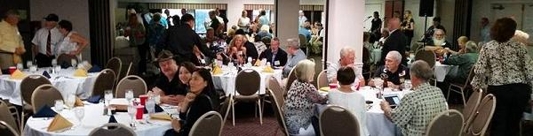 USS Bergall reunion 2017 banquet room