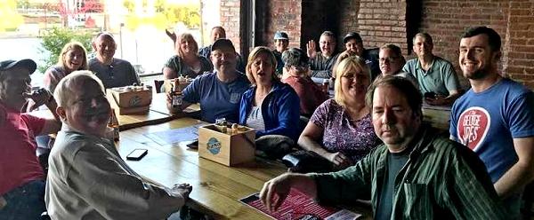 USS Bergall 2017 reunion Nashville fun