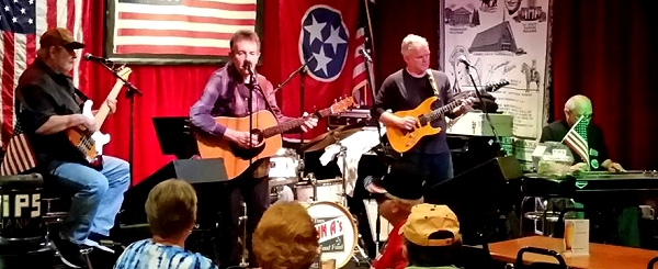 USS Bergall reunion Nashville music scene