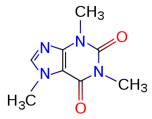coffee caffeine chemical structure