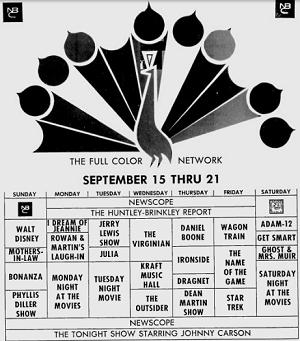 NBC September 1968