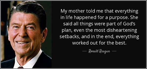 Life - Ronald Regan
