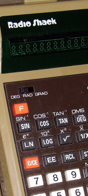 1978 Radio Shack pocket calculator
