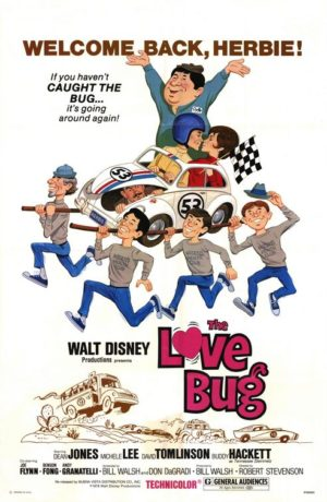 VW herbie the love bug movie poster