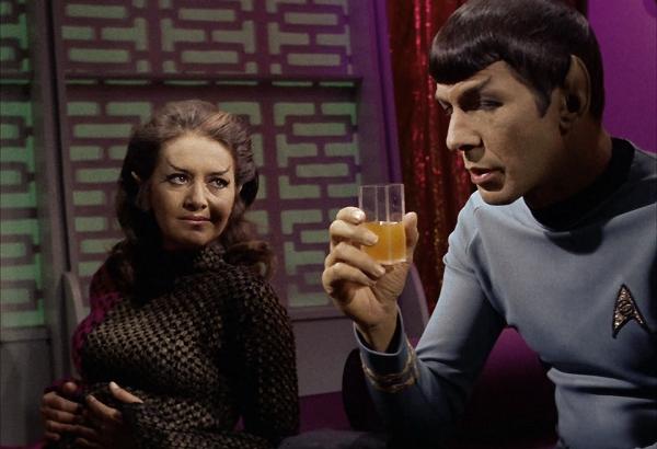 Star Trek Original Series The Enterprise Incident Spock Romulan Commander