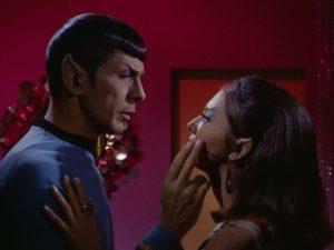 Star Trek The Enterprise Incident Spock romance with the Romulan Commander