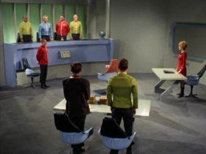 Star Trek Starbase 11 courtroom