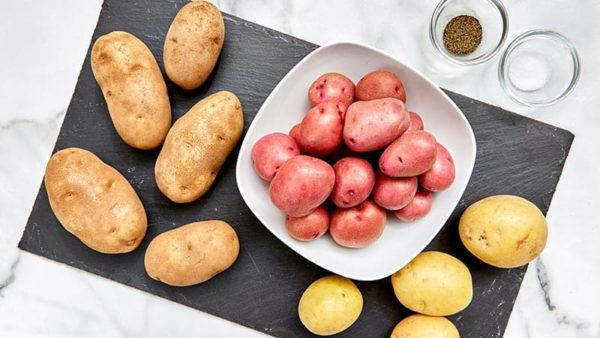 potatoes ready to cook