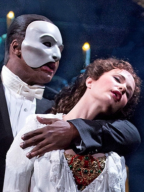 Broadway phantom of the opera