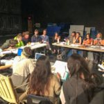 Script Table Reading - When a Script Comes Alive - Benjamin Franklin Lives enters Post Production