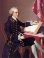 1775 John Hancock by artist John Singleton Copley