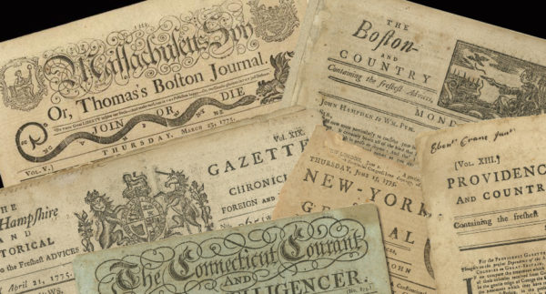 1775 Newspapers