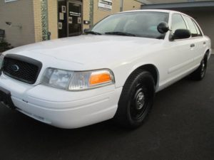 Crown Victoria Police Interceptor 2011