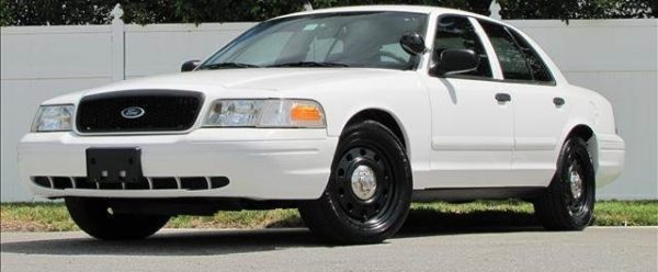 My Crown Vic Police Interceptor