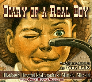 Diary of a Real Boy Cover