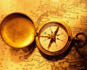 old_map_and_compass
