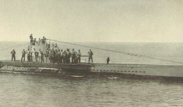WWI German Submarine U-boat