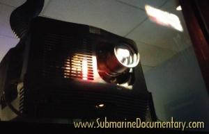 Submariners submarine documentary Barco projector