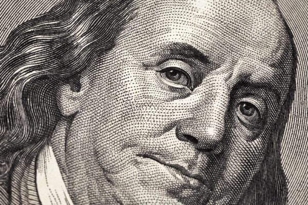Benjamin Franklin is watching you 1000w